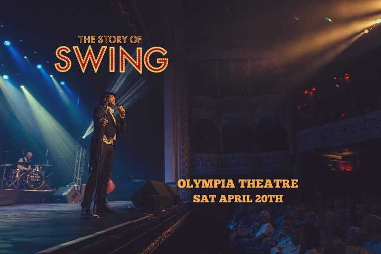 The Swing Cats live in The Olympia Theatre in Dublin next April 20th 2019
