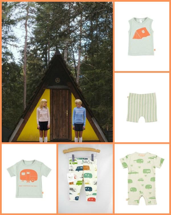 maschietti ispirazione camping