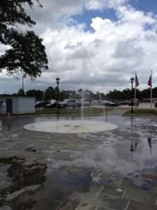 Splash Fountain for the kids