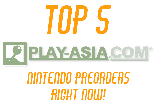 top play asia preorders
