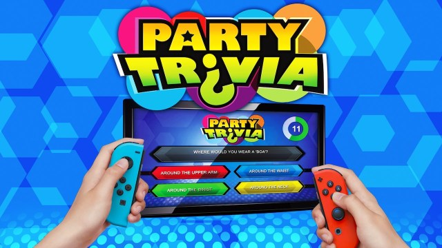 Party Trivia brings more than 7000 questions to Nintendo Switch!