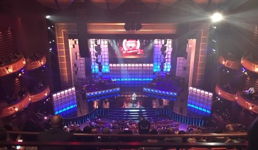 The Trumpet Awards set. Photo by Salena Webb, Staff Photographer.