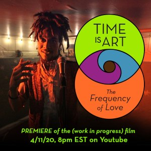 time is art, ombroy rome, premiere, documentary, the frequency of love
