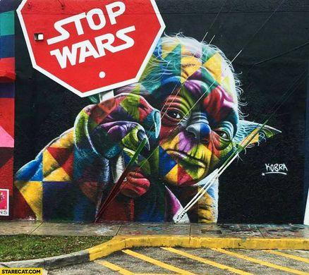 stop wars, kobra