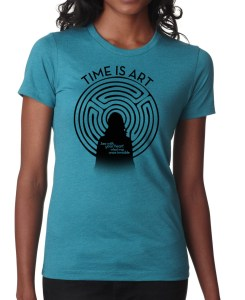 Time is Art womens Tee