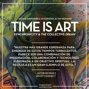 time is art, espanol, documentario, sychronicidad