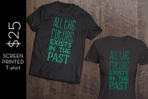 time is art t-shirt