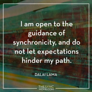 synchronicity, quote, time is art, documentary