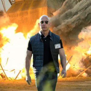 Bezos will be back...
