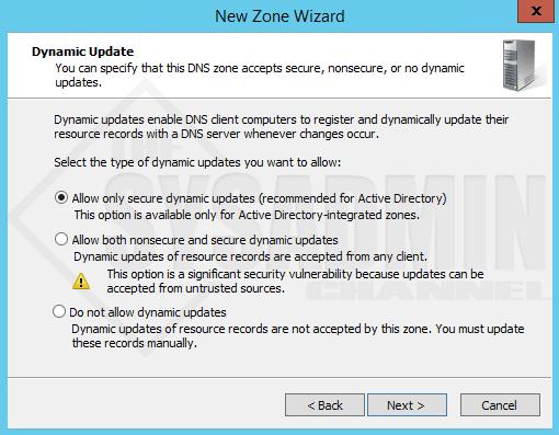 Dynamic Update DNS