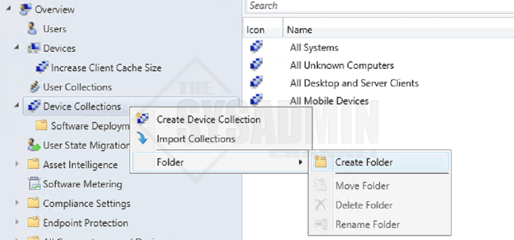 SCCM-Create Device Collections Based On AD OUs