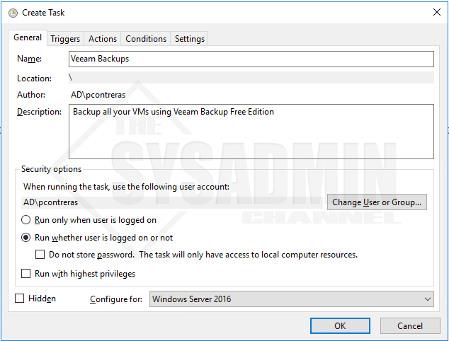 Automate Backups with Start-VBRZip in Powershell (Veeam