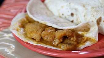 Chicharron en Salsa Ranchera
