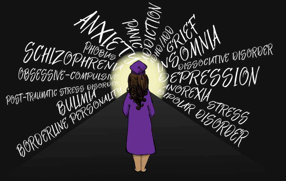 Health And Collegiate Organizations Tackle Mental Health In Students