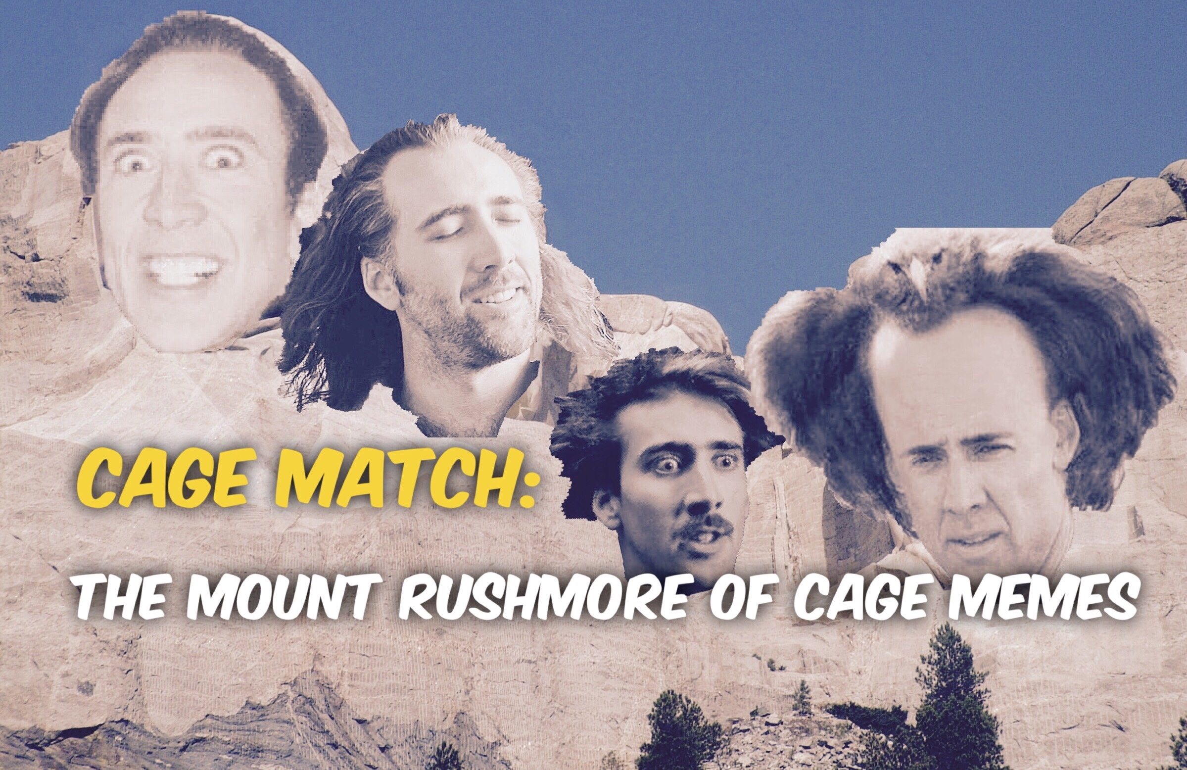 Cage Match – Mt Rushmore
