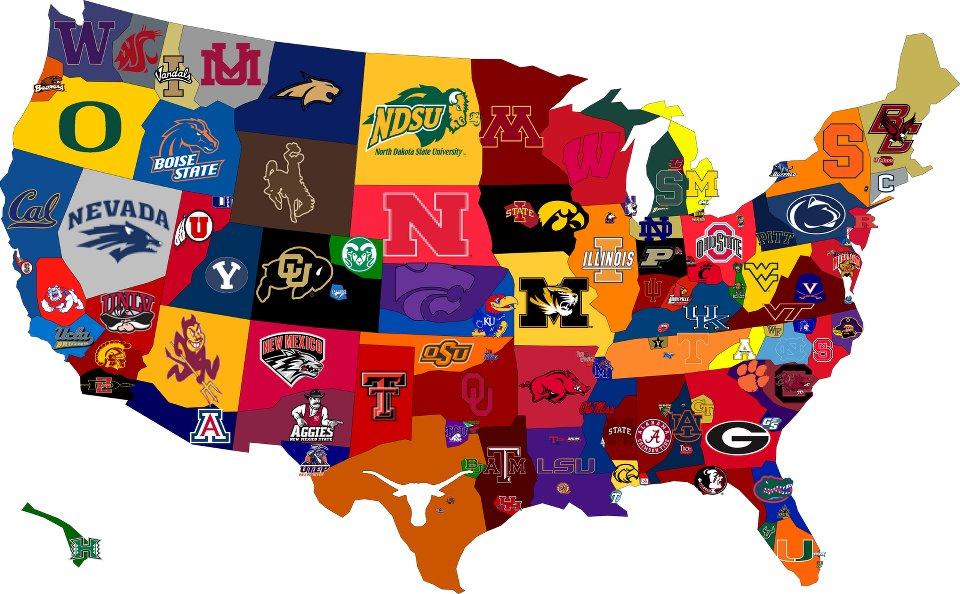 Football Map