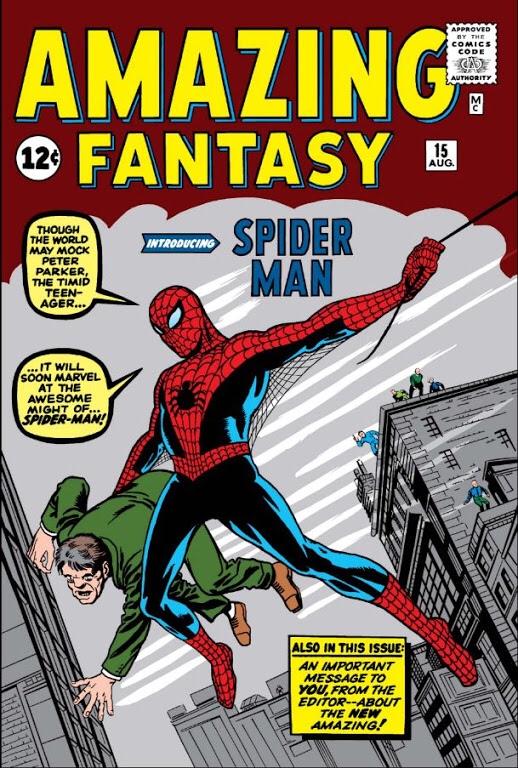 Spider-man 1st