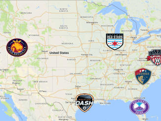 NWSL Map