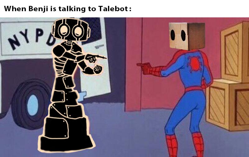 Blaze — Talebot Meme #4
