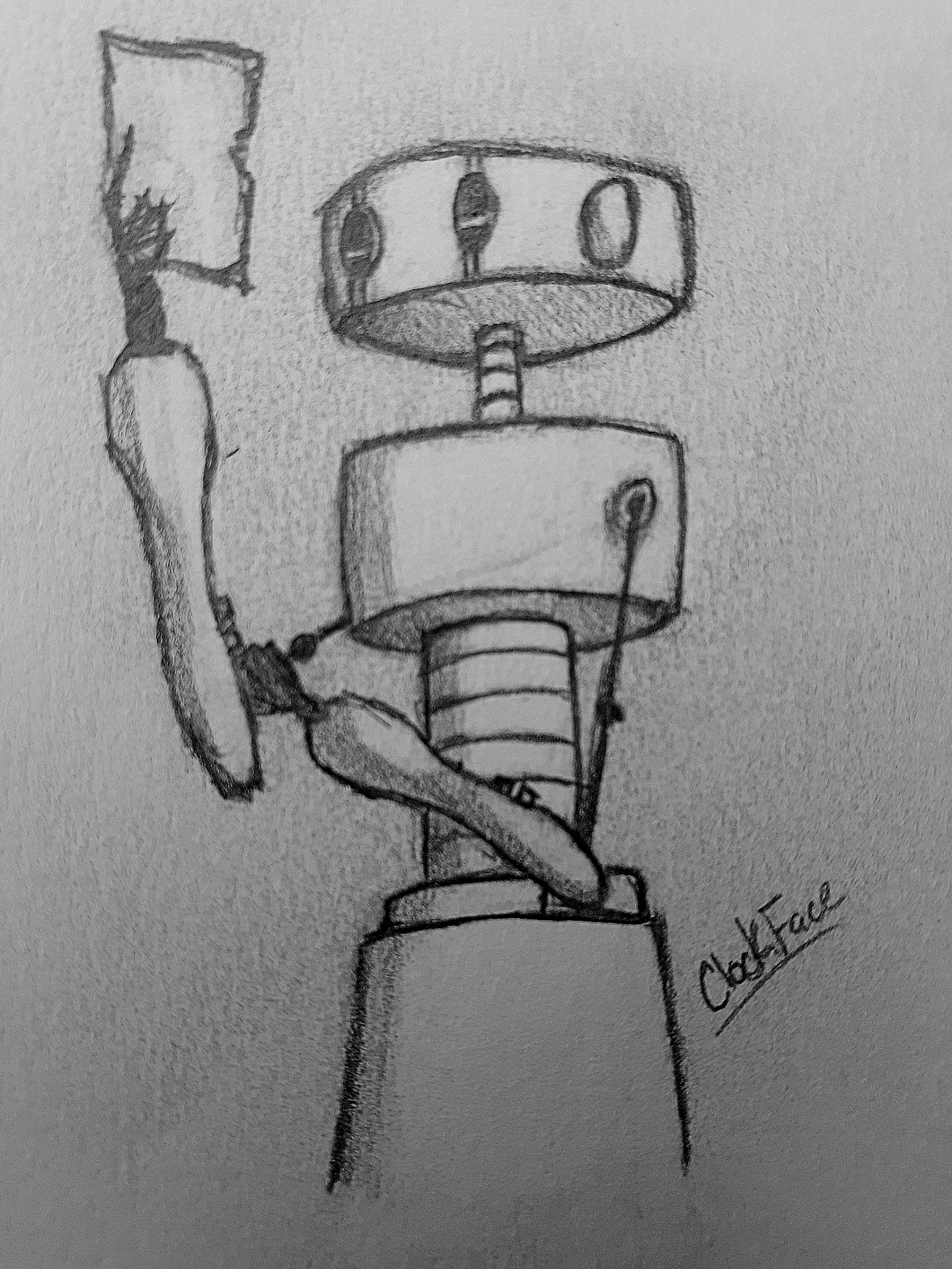 ClockFace — Talebot Sketch