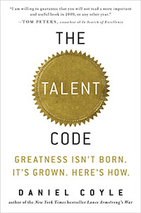 Image result for the talent code daniel coyle