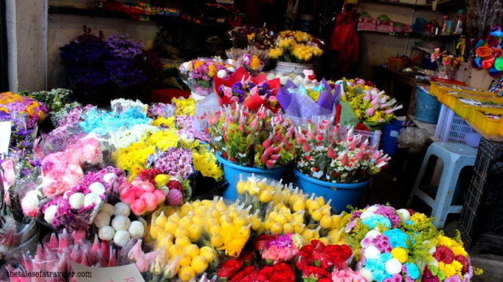 Flower markets cameron Highland