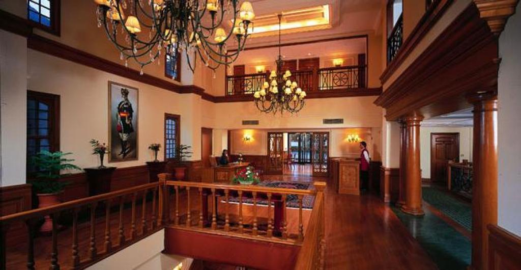 The lobby- Oberoi Cecil Shimla