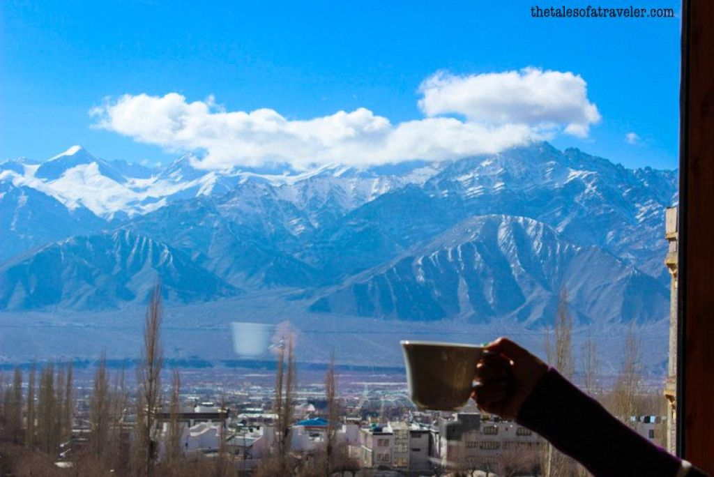 Ladakh in winter pictures