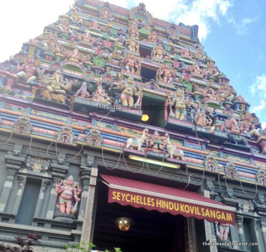 seychelles-hindu-temple - Things To do in Mahe Island seychelles