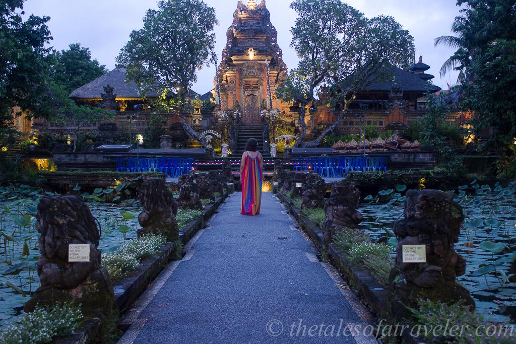 Pura Taman Saraswati Temple- Bali