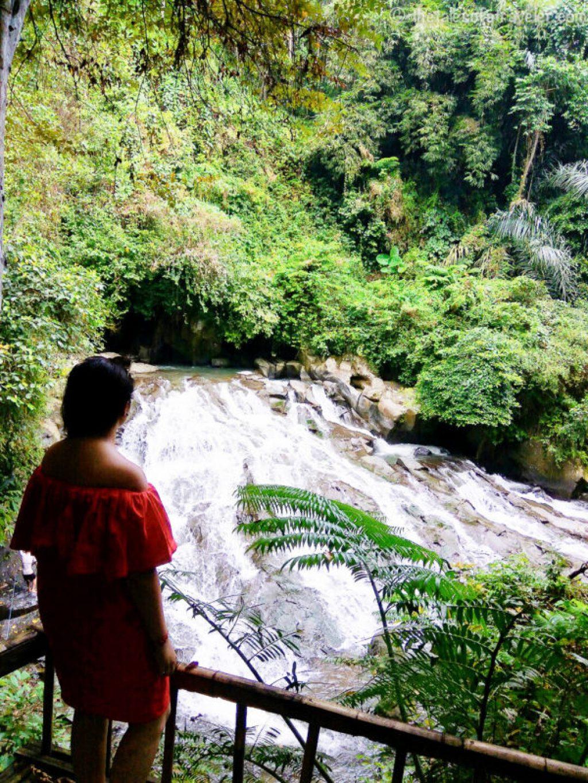 Goa Rang Reng waterfall Bali