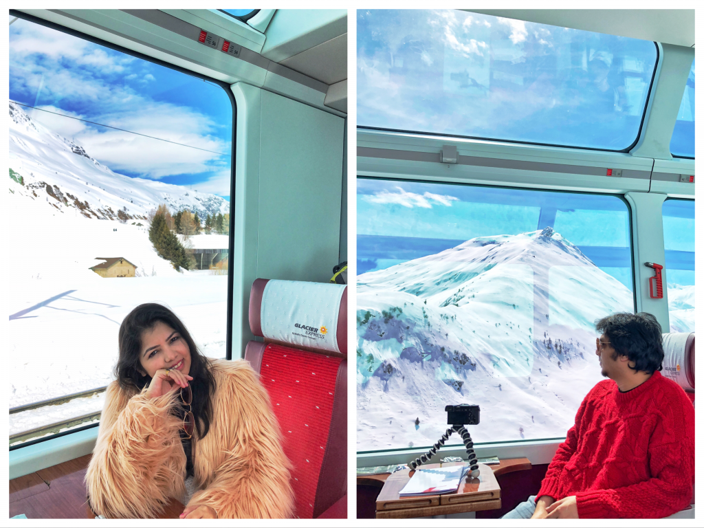 Glacier Express Switzerland - Scenic Route