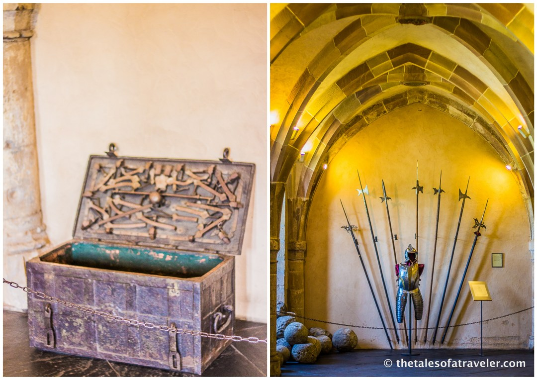 Interior Pictures of Vianden Castle