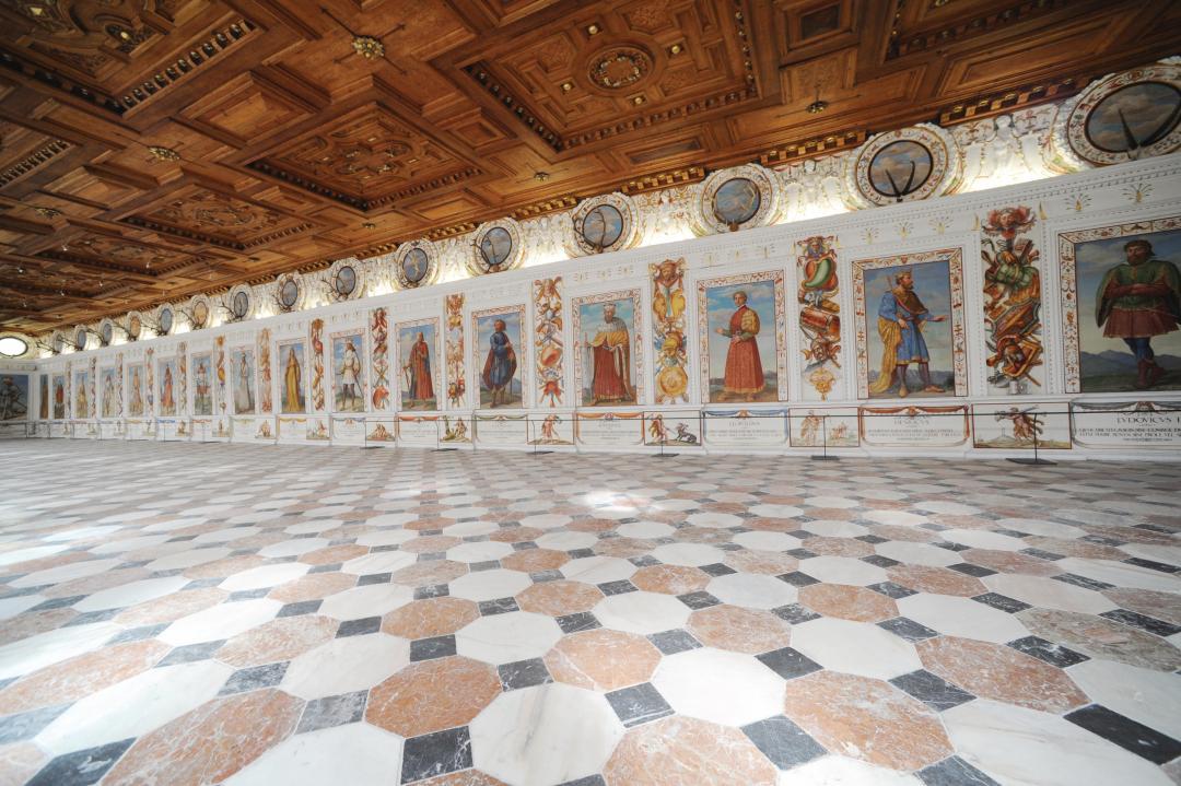 Interiors of Ambras Castle