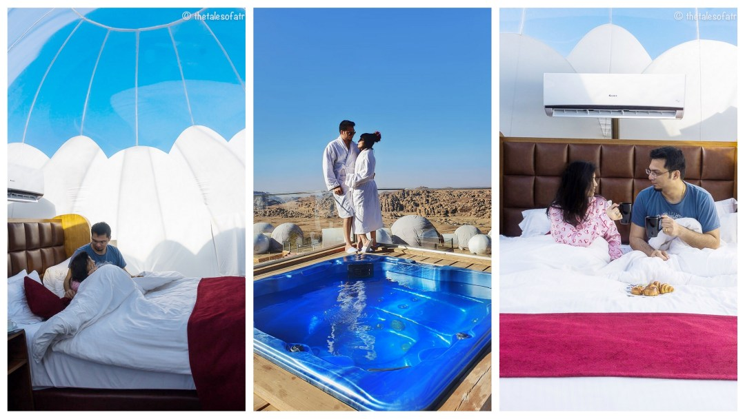 Luxury Bubble Tent in Jordan