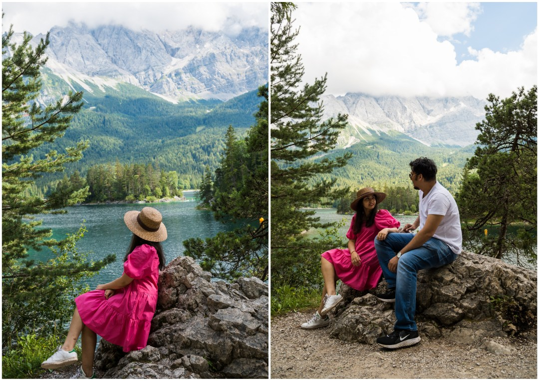 Instagrammable spot Eibsee Lake - Sasseninsel