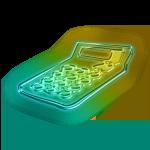 111049-glowing-green-neon-icon-business-calculator
