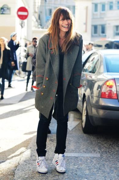 la-modella-mafia-Caroline-De-Maigret-model-off-duty-street-style-in-Isabel-Marant-coat-and-Adidas-sneakers
