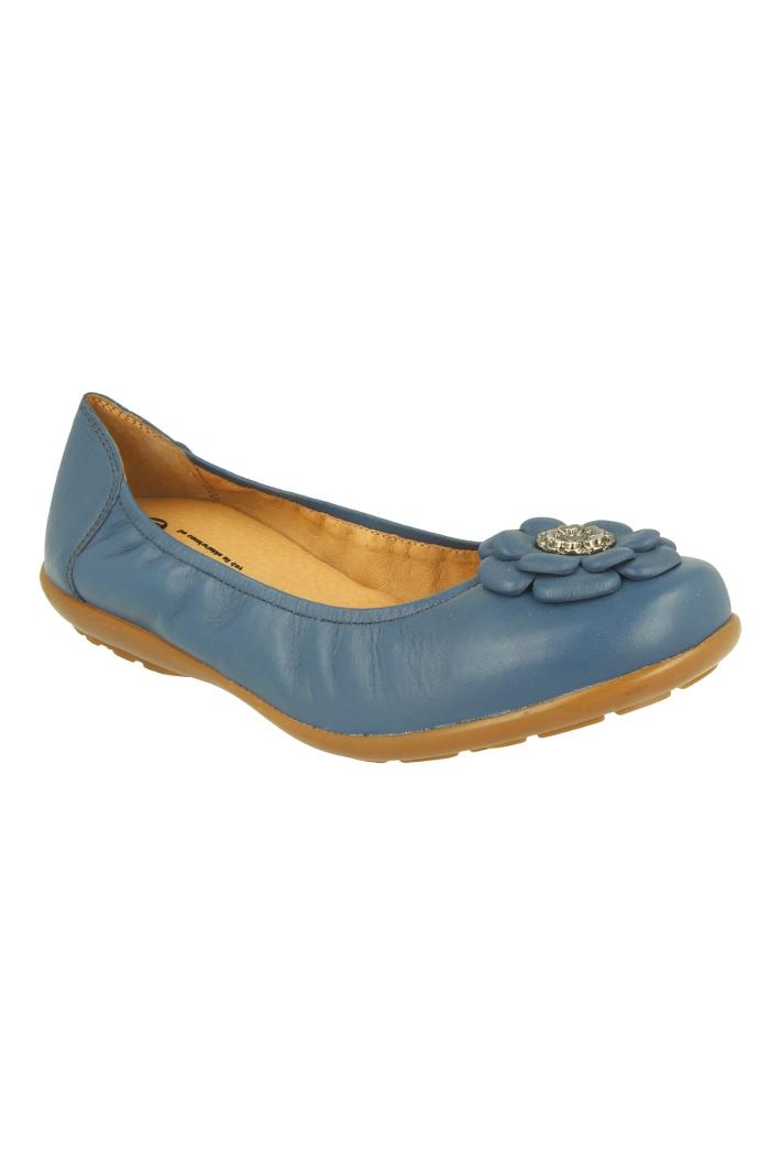 0d1c6952b06 Extra wide fit women s flats DB Shoes 70493X 6V