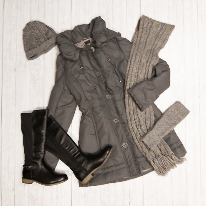 tall grey coat
