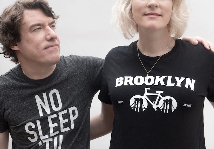 Kyle Blair and Katie Henner in Brooklyn, NYC.