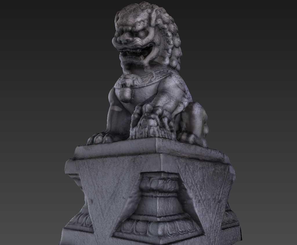 ChinaTown Lion Statue