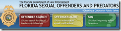 FDLE Florida Sexual Offenders and Predators - Neighborhood Search