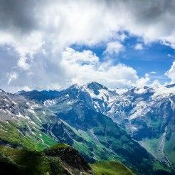 Beautiful Grossglockner mountains
