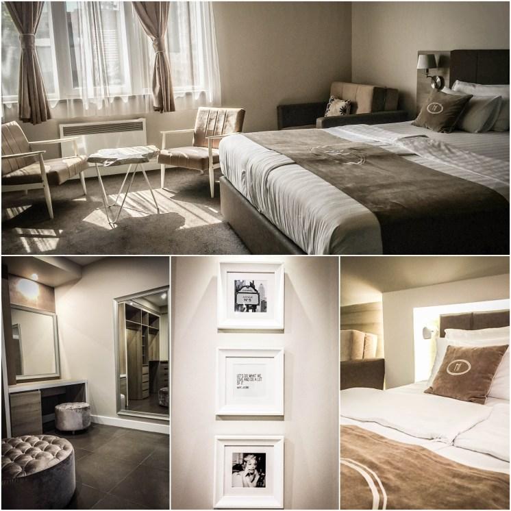 bedroom at the Hotel Ideja