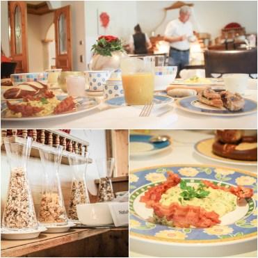 breakfast at Landhaus Feckl