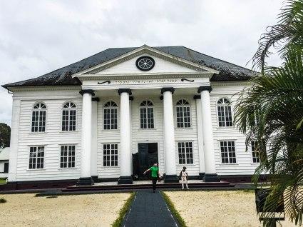 Neveh Shalom Synagogue in Paramaribo
