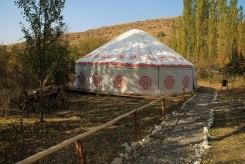 Kazakh tent
