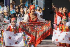 Streetparade in Kyrgyzstan