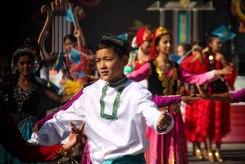 Parade in Kyrgyzstan